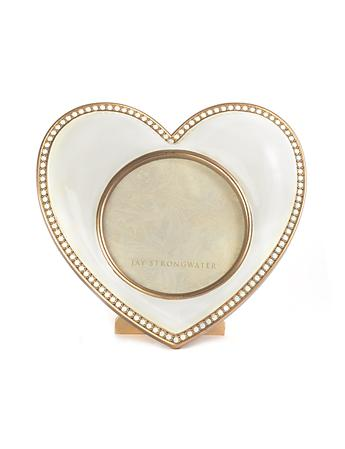Chantal Heart Frame - Gold