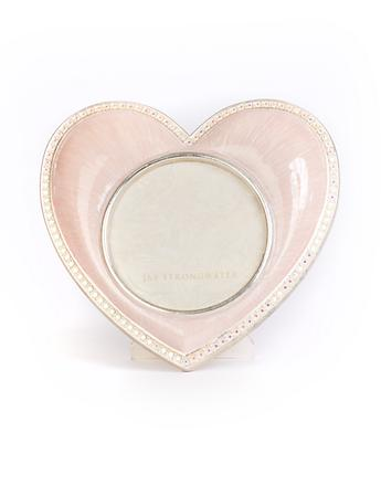 Chantal Heart Frame - Pale Pink