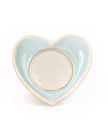 Chantal Heart Frame - Pale Blue