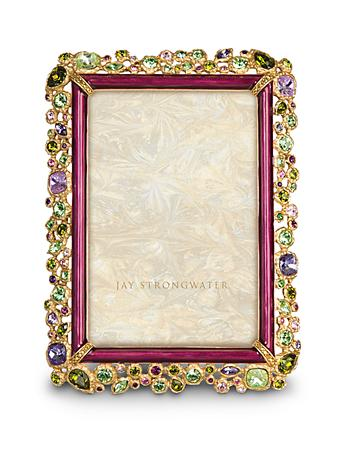 "Emery Bejeweled 4"" x 6"" Frame - Bouquet"