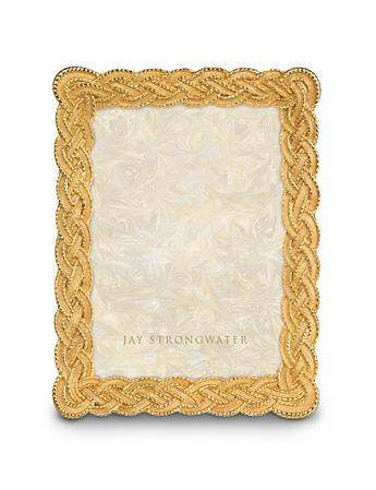 "Lynette Braided 5"" x 7"" Frame - Gold"