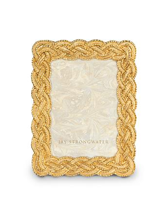 "Conan Braided 3.5"" x 5"" Frame - Gold"