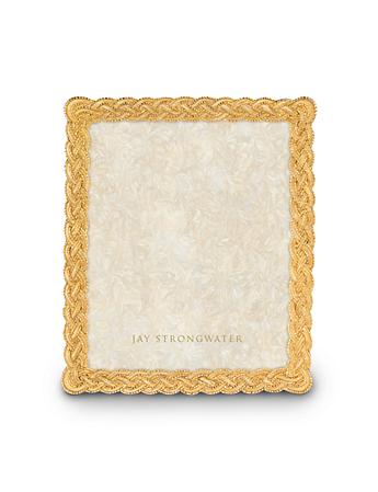 "Donnelly Braided 8"" x 10"" Frame - Gold"