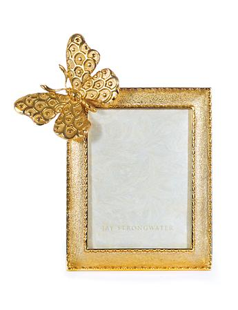 "Juno Butterfly 3"" x 4"" Frame - Gold"