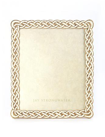 "Liam Braided 8"" x 10"" Frame - Golden"