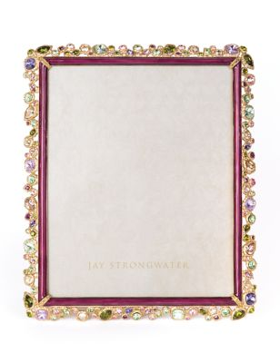 "Theo Bejeweled 8"" x 10"" Frame - Bouquet"