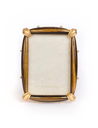 "Angelo Tiger's Eye 5"" x 7"" Frame - Tiger's Eye"