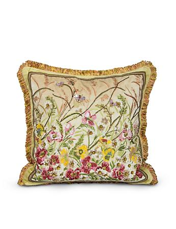 "Poppy 20"" x 20"" Pillow - Flora"