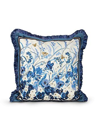 "Poppy 20"" x 20"" Pillow - Delft Garden"