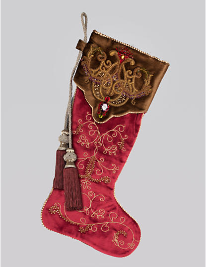 Arabesque Stocking - Ruby