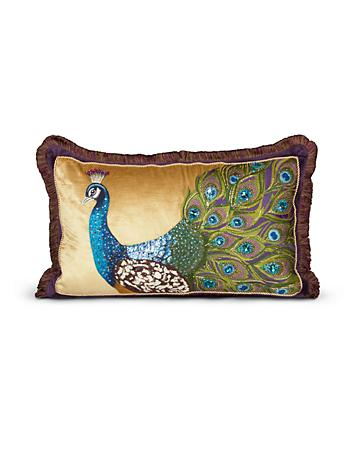 "Peacock 16"" x 26"" Pillow - Peacock"