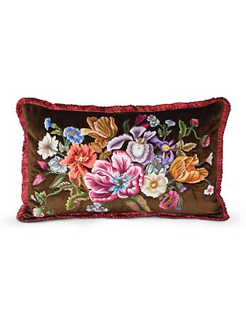 "Dutch Floral 16"" x 26"" Pillow - Bouquet"