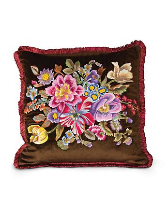 "Dutch Floral 20"" x 20"" Pillow - Bouquet"