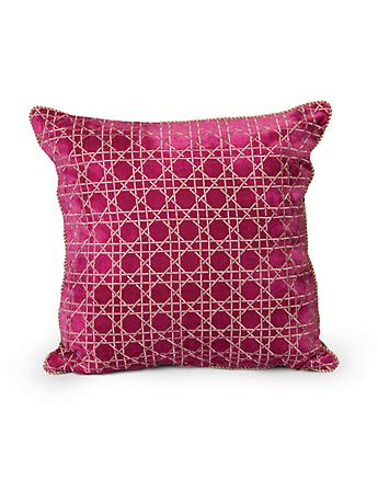 "Trellis 20"" x 20"" Pillow - Flora"