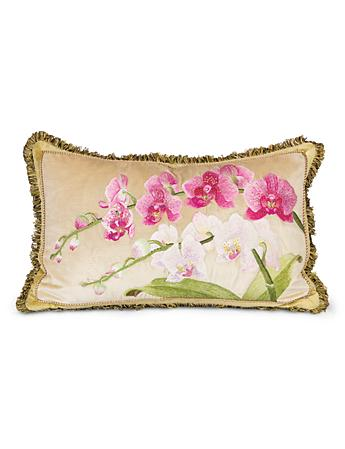 "Orchid 16"" x 26"" Pillow - Flora"