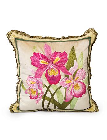 "Orchid 20"" x 20"" Pillow - Flora"