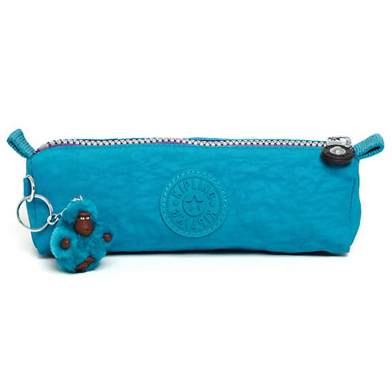 Fabian Cosmetics & Pen Case,Turq Blue,large