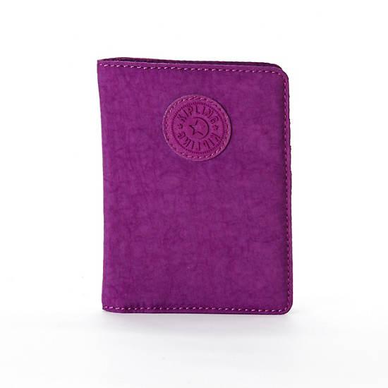 Passport Holder,Grape,large