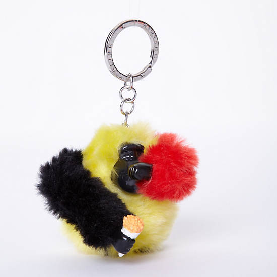 Belgium Monkey Keychain,Multi,large