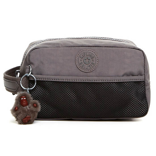 Denice Toiletry Bag,Celo Grey,large