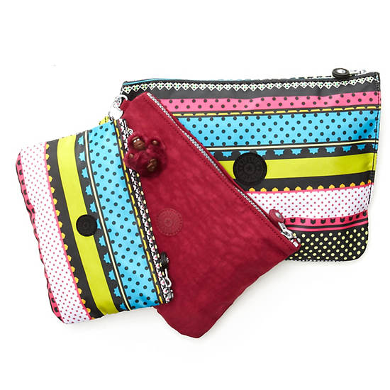 Iaka Large Print Pouch,Tapestry Print,large