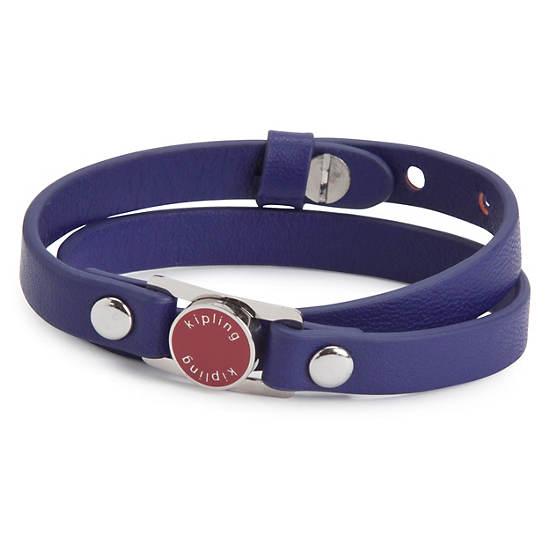 Leather Bracelet,Blue Skies,large