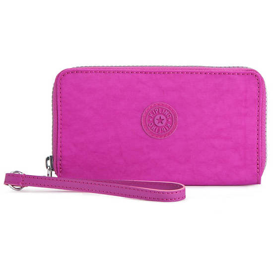 GIDEON Wallet,Pink Orchid,large