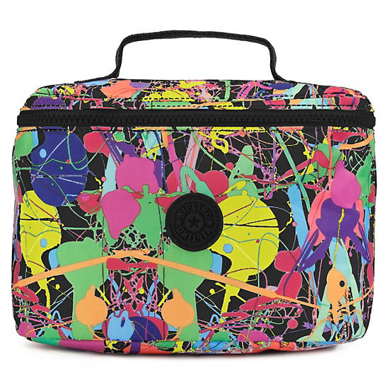 MARIZE PRINTED COSMETIC CASE,Art Party,large