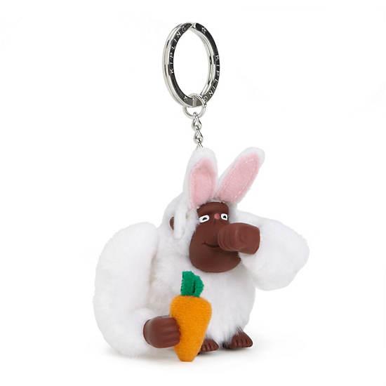 Bunny Monkey Keychain,Multi,large