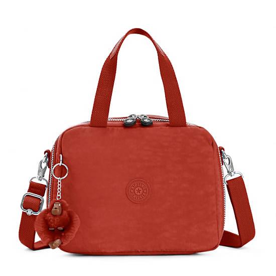 Miyo Lunch Bag,Red Rust,large