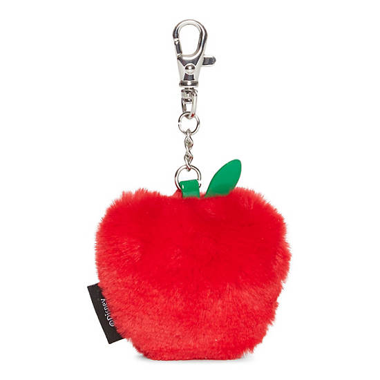 apple keychain. disney\u0027s snow white apple keychain,tango red,large keychain