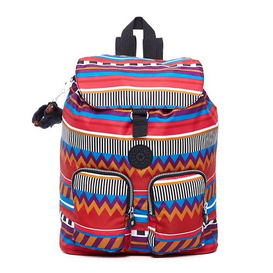 Raychel Print Backpack,Fruit Punch Print,large