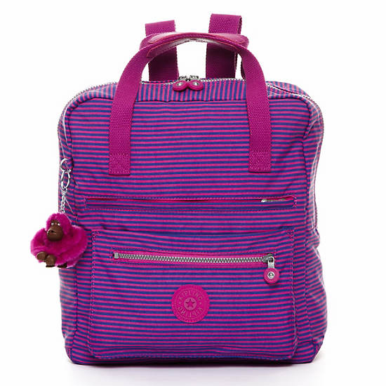 Salee Backpack,Orchid Stripe,large