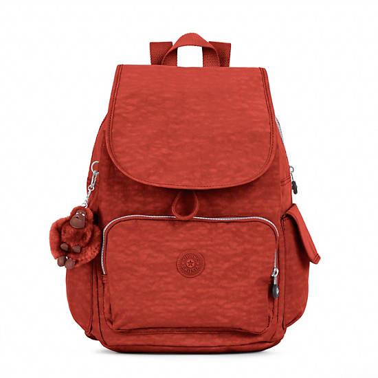 Ravier Medium Backpack,Red Rust,large