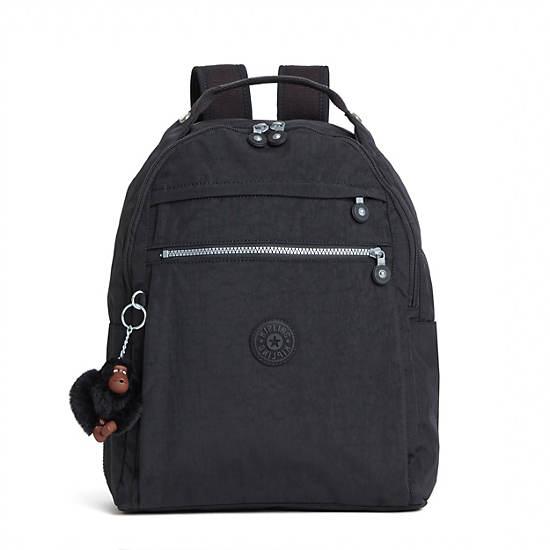 Micah Medium Laptop Backpack,Black,large