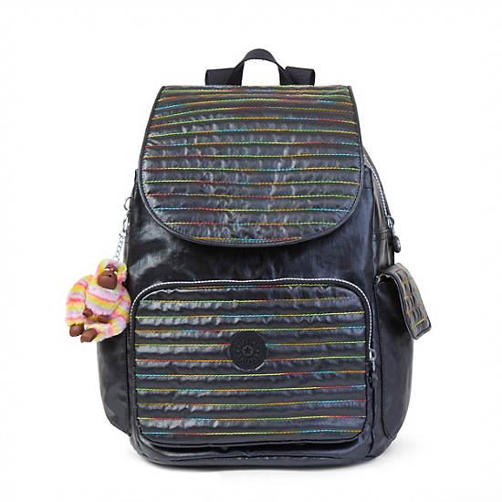 Ravier Medium Backpack,Lacquer Black,large