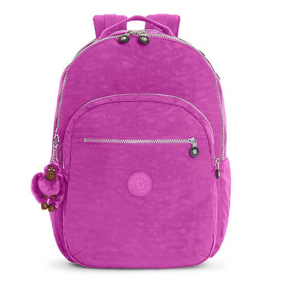 Seoul Extra Large Laptop Backpack,Purple Garden,large