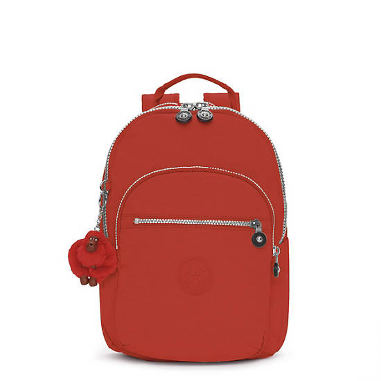 Seoul Small Backpack,Red Rust,large