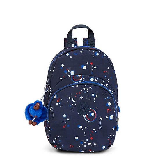 Jacque Printed Kids Backpack,Galaxy Party,large