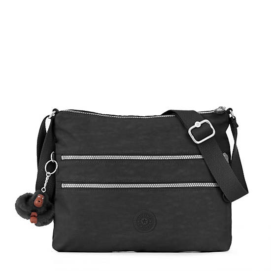 Alvar Crossbody Bag,Black,large
