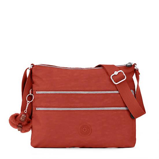 Alvar Crossbody Bag,Red Rust,large