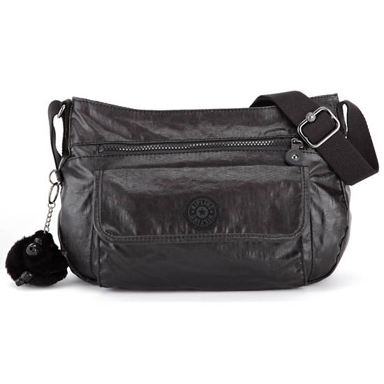 Syro Crossbody Bag,Lacquer Black,large