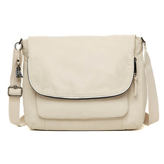 Garan Leather Handbag,Alabaster Happy Friday Combo,large