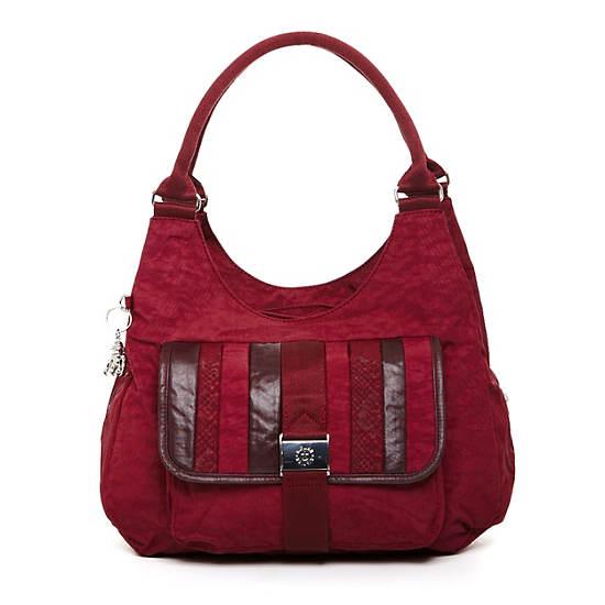Bagsational Handbag,Portred Patch,large