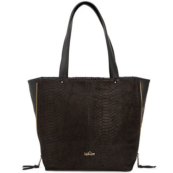 Hermine Leather Tote,Hello Weekend,large