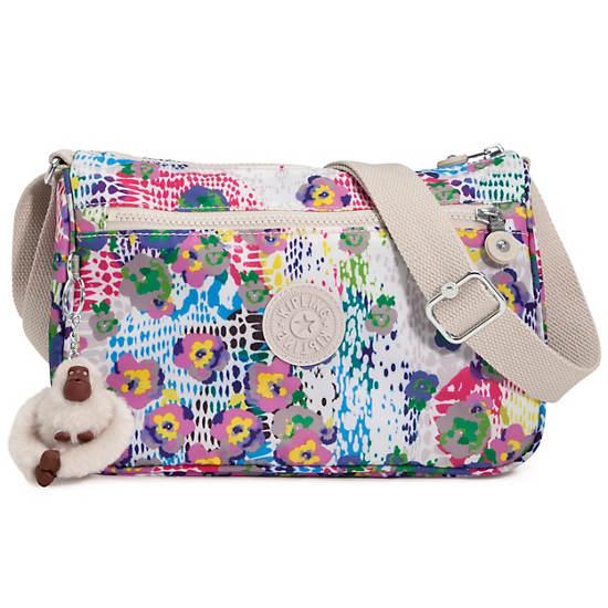 Callie Printed Handbag,Daisy Dance Print,large
