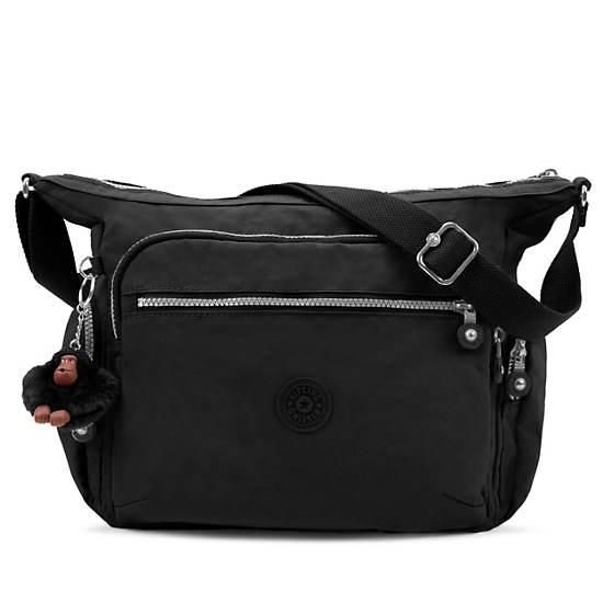 Gabbie Handbag,Black,large