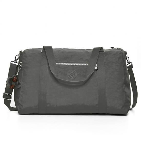 Itska Solid Duffle Bag,Celo Grey,large