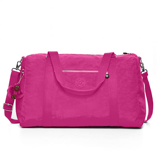 Itska Solid Duffle Bag,Very Berry,large