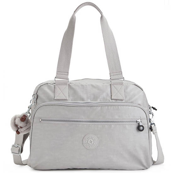 New Weekend Travel Bag,Pearlized Ash Grey,large
